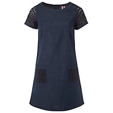 Buy White Stuff Iris Denim Tunic Dress, Onyx Blue Online at johnlewis.com