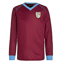 Buy St Francis Xavier College Boys' Football Jersey, Maroon/Sky Blue Online at johnlewis.com