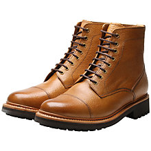 Buy Grenson Joseph Leather Boots, Tan Online at johnlewis.com