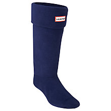 Buy Hunter Wellington Boot Socks, Navy Online at johnlewis.com