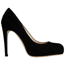 Buy L.K. Bennett Harley Suede Court Shoes Online at johnlewis.com