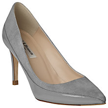 Buy L.K. Bennett Aspen Pointed Toe Leather Court Shoes Online at johnlewis.com