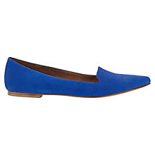 Buy Jigsaw Cecile Pointed Flat Pumps Online at johnlewis.com