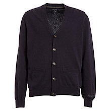 Buy Woolrich John Rich & Bros. Mill Cardigan, Navy Melange Online at johnlewis.com