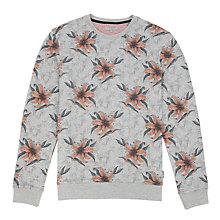 Buy Ted Baker Leaftop Print Sweatshirt Online at johnlewis.com