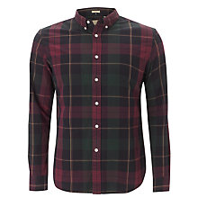 Buy Dockers Tartan Oxford Shirt, Green/Red Online at johnlewis.com