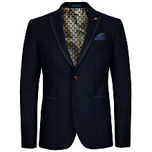 Buy Ted Baker Forel Wool Flannel Blazer, Navy Online at johnlewis.com
