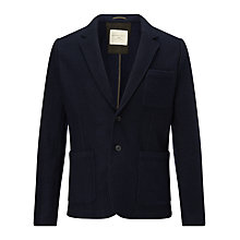 Buy Selected Homme Del Casual Blazer, Navy Online at johnlewis.com