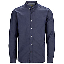 Buy Selected Homme One Bow Shirt, Navy Online at johnlewis.com