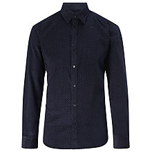 Buy Selected Homme Colt Corduroy Shirt, Navy Online at johnlewis.com