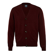 Buy Woolrich John Rich & Bros. Mill Cardigan, Redwood Online at johnlewis.com