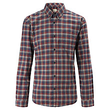 Buy Selected Homme Teton Check Shirt, Red/Blue Online at johnlewis.com