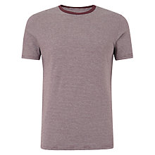 Buy JOHN LEWIS & Co. Fine Stripe Crew Neck T-Shirt Online at johnlewis.com