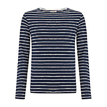 Buy JOHN LEWIS & Co. Slub Crew Neck T-Shirt Online at johnlewis.com