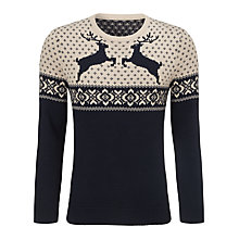 Buy John Lewis Reindeer Christmas Jumper Online at johnlewis.com