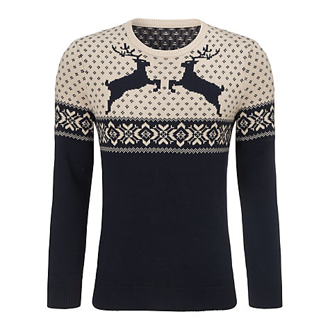 Christmas Charity Reindeer Jumper
