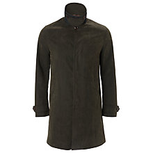 Buy JOHN LEWIS & Co. Carbon Bound Army Mac, Khaki Online at johnlewis.com