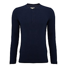 Buy JOHN LEWIS & Co. Pique Grandad Top Online at johnlewis.com
