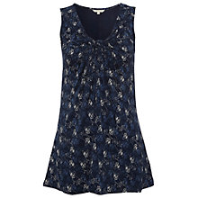 Buy White Stuff Enchanted Vest, Dark Blue Velvet Online at johnlewis.com