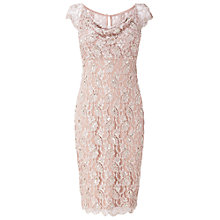 Buy Phase Eight Emma Embellished Dress, Petal Online at johnlewis.com