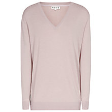 Buy Reiss Reed Jumper, Shell Pink Online at johnlewis.com