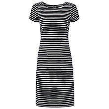 Buy White Stuff Love Me Stripe Dress, Navy Online at johnlewis.com