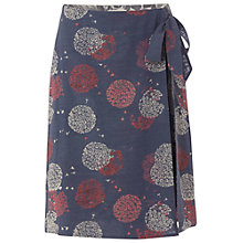 Buy White Stuff Mimmo Wrap Skirt, Dark Moonlight Blue Online at johnlewis.com