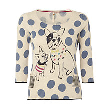 Buy White Stuff Bulldog Jumper, Emulsion Online at johnlewis.com