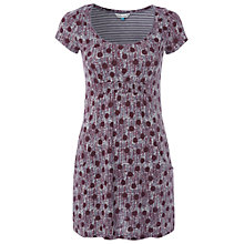 Buy White Stuff Roman Tunic Top, Dark Red Online at johnlewis.com