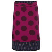Buy White Stuff Emin Skirt, Magenta Go Online at johnlewis.com