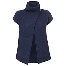 Buy White Stuff Scrapbook Cardi, Dark Blue Velvet Online at johnlewis.com