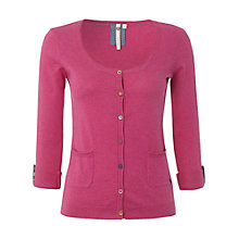 Buy White Stuff Art School Cardi, Crayon Pink Online at johnlewis.com