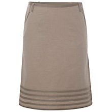 Buy White Stuff Hiccup Linen Blend Skirt, Light Coconut Shell Online at johnlewis.com