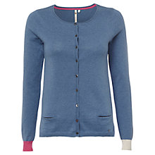 Buy White Stuff Dolly Cardi, Blue Suede Online at johnlewis.com