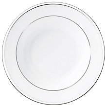 Buy Wedgwood Sterling Soup Plate Online at johnlewis.com