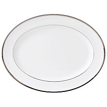 Buy Wedgwood Sterling Oval Dish Online at johnlewis.com
