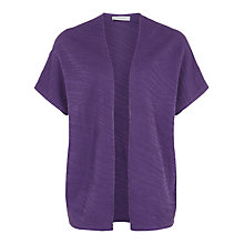 Buy Windsmoor Textured Cardigan, Purple Online at johnlewis.com