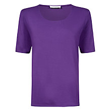 Buy Windsmoor Basic Top, Purple Online at johnlewis.com