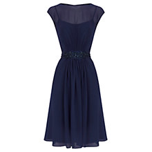 Buy Coast Lori Lee Short Dress, Navy Online at johnlewis.com