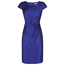 Buy Precis Petite Crinkle Dress, Cobalt Blue Online at johnlewis.com