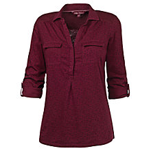 Buy Fat Face Petal Shirt, Bordeaux Online at johnlewis.com