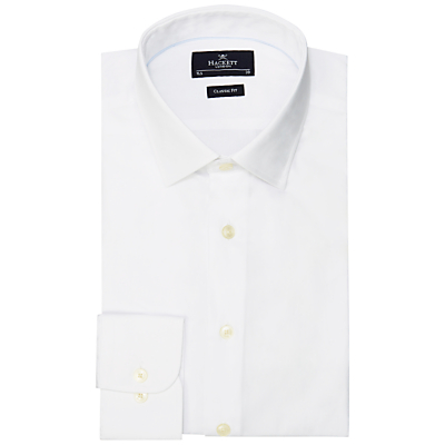 Image of Hackett London Plain Poplin Shirt