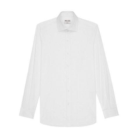 Buy Reiss Zinc Stretch Poplin Shirt Online at johnlewis.com
