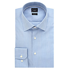 Buy Hackett London Prince of Wales Check Shirt, Blue Online at johnlewis.com