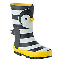 Buy John Lewis 3D Penguin Wellington Boots Online at johnlewis.com