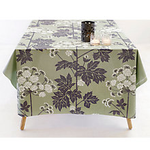 Buy Susanne Schjerning Umbrellifer Tablecloth, Pale Green Online at johnlewis.com