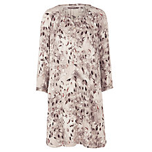 Buy Sandwich Leaves Tunic Dress, Mushroom Online at johnlewis.com