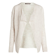 Buy Sandwich Wool-blend Cardigan, Mushroom Online at johnlewis.com
