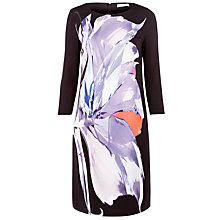 Buy BOSS Abstract Print Dress, Multi Online at johnlewis.com