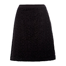 Buy BOSS A-Line Skirt, Black Online at johnlewis.com